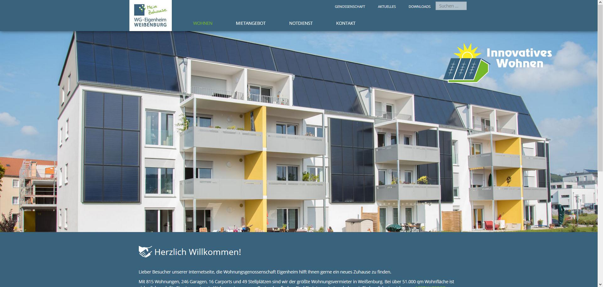 Wohnungsgenossenschaft Eigenheim eG Weißenburg