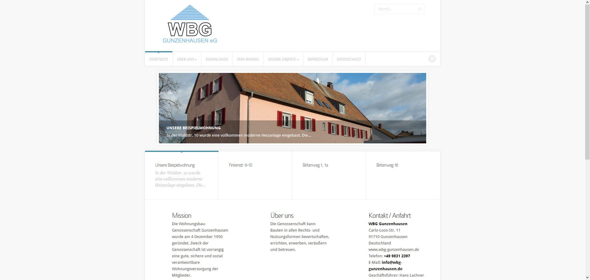 Wohnungsbaugenossenschaft Gunzenhausen eG